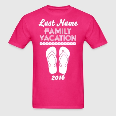 Family Vacation Flip Flop - Men's T-Shirt