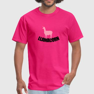 Llamacorn - Men's T-Shirt