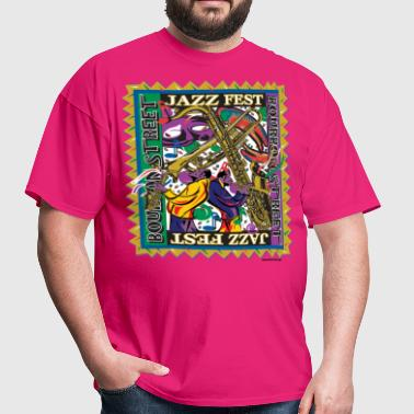 Jazz-Fest - Men's T-Shirt