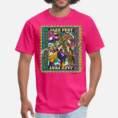 Orleans Jazz-Fest - Men's T-Shirt