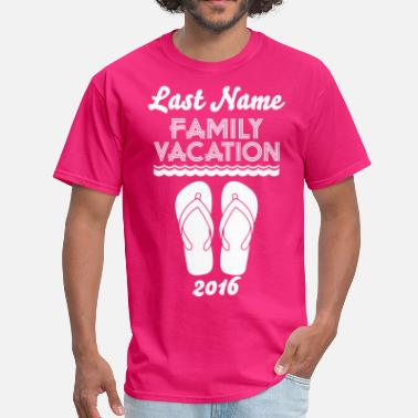 Reunion Family Vacation Flip Flop - Men's T-Shirt