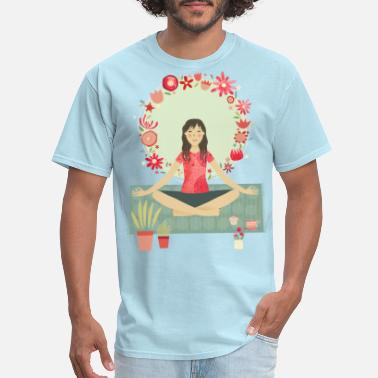 Yoga Meditation Meditation Yoga - Men's T-Shirt