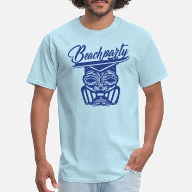 Beachparty beachparty - Men's T-Shirt