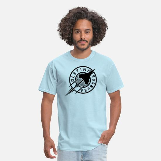 Fate T-Shirts - Destiny Express - Men's T-Shirt powder blue