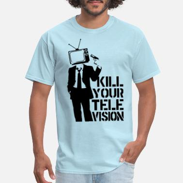 Television Kill Your Television VECTOR - Men's T-Shirt