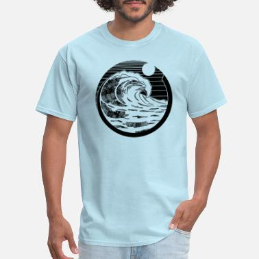 Wave Circle - Men's T-Shirt