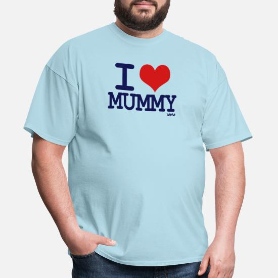 a7261fc0 i love mummy by wam Men's T-Shirt | Spreadshirt