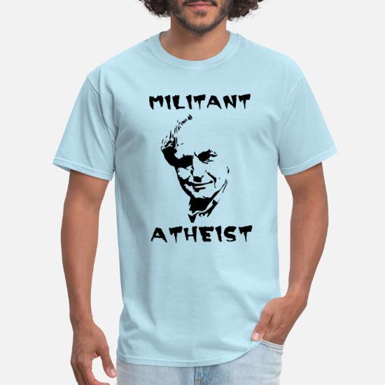 chaussures de sport 21b47 395da militant atheist Men's T-Shirt | Spreadshirt
