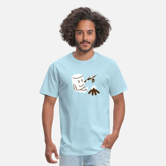 Camping T-Shirts - Let's Go Camping! - Men's T-Shirt powder blue