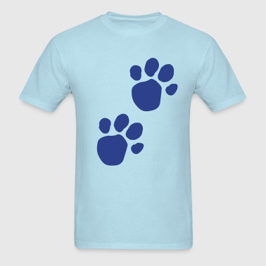 Blues Clues (Dog Pawprint) - Men's T-Shirt