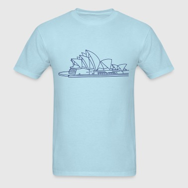 Opera House in Sydney - Men's T-Shirt