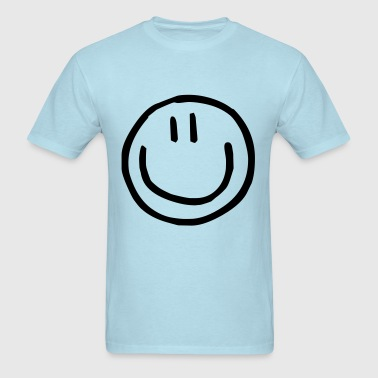 cute smiley kids - Men's T-Shirt