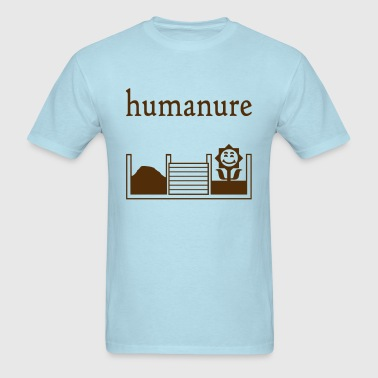 humanure - man's tee - Men's T-Shirt