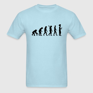 Evolution cook chef - Men's T-Shirt