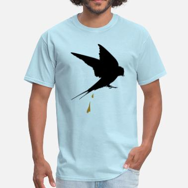 Bird Poop captive bird poop - Men's T-Shirt