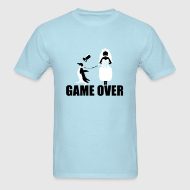 Game Over Penguin   - Men's T-Shirt