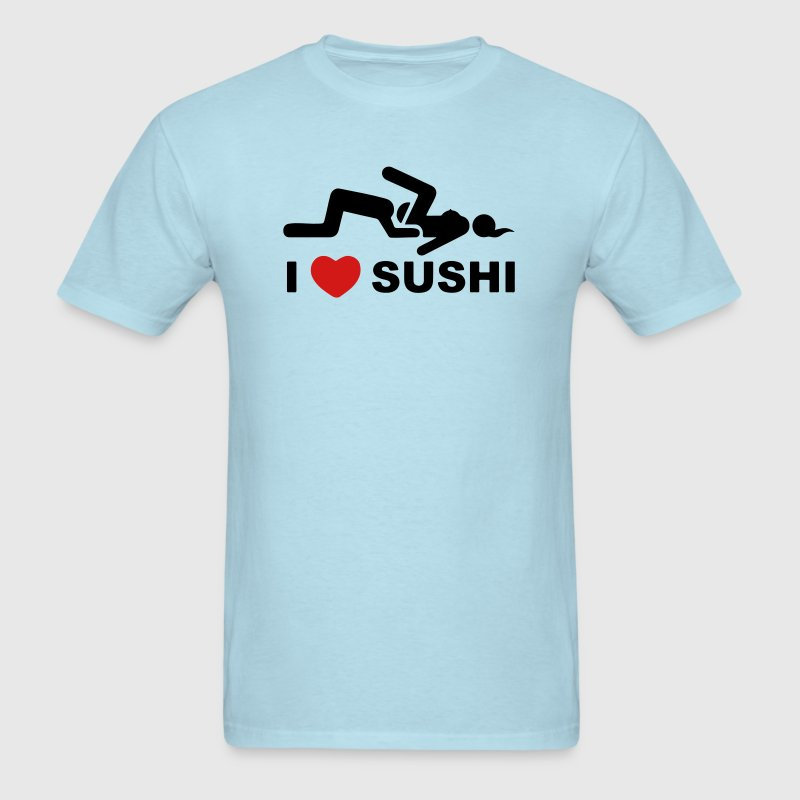 I LOVE SUSHI - Men's T-Shirt