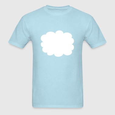 Cloud, speech bubble - Men's T-Shirt