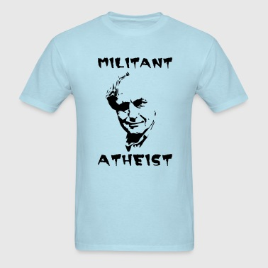 militant atheist - Men's T-Shirt