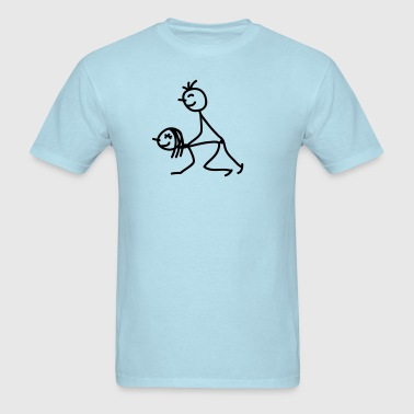 happy_fuck - Men's T-Shirt