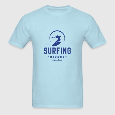 Surfing riders - Men's T-Shirt