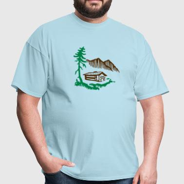 Alps Landscape - Men's T-Shirt