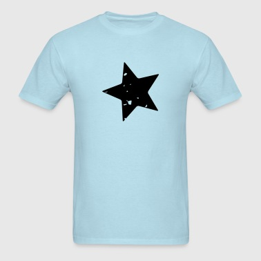 Grunge Star - Men's T-Shirt