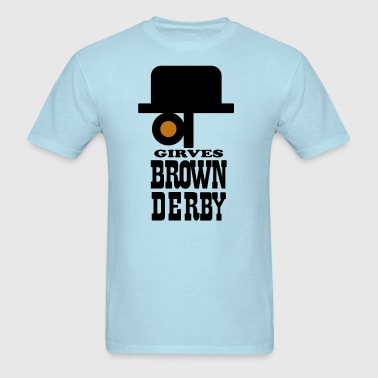 Brown Derby - Men's T-Shirt