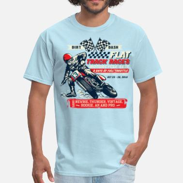 Motorcycle Racing Dirt Dash Moto - Men's T-Shirt