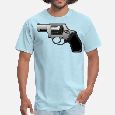 Revolver Ghetto Revolver with many details in metallic look - Men's T-Shirt