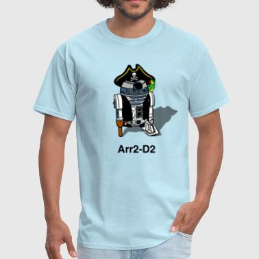 Pirate Droid Arr2-D2 - Men's T-Shirt