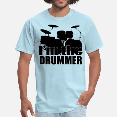 Death Drummer I'm The Drummer HD Design - Men's T-Shirt