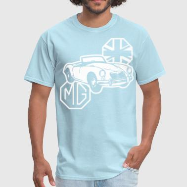British Car MG MGA Classic British Sports Car - Men's T-Shirt