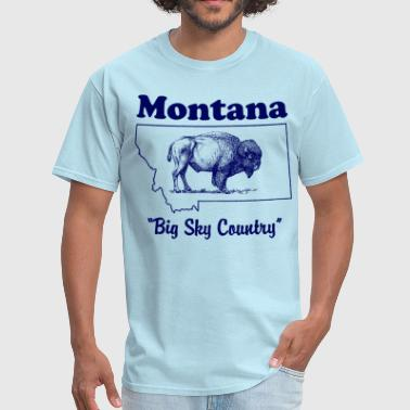 Montana Big Sky Country - Men's T-Shirt