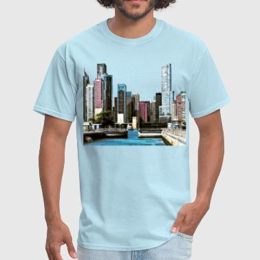 Chicago IL - Chicago Harb - Men's T-Shirt