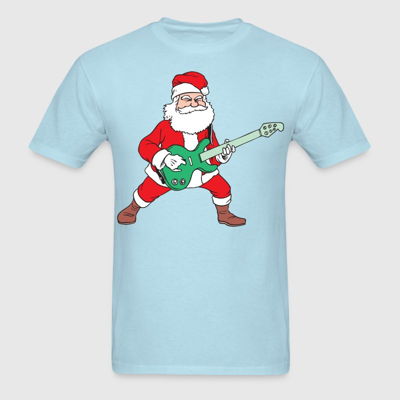 Rock and Roll Santa - Men's T-Shirt