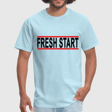 fresh_start_new_beginning_tshirts_ - Men's T-Shirt