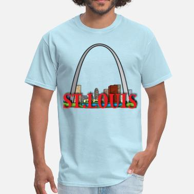 St Louis Arch st louis - Men's T-Shirt