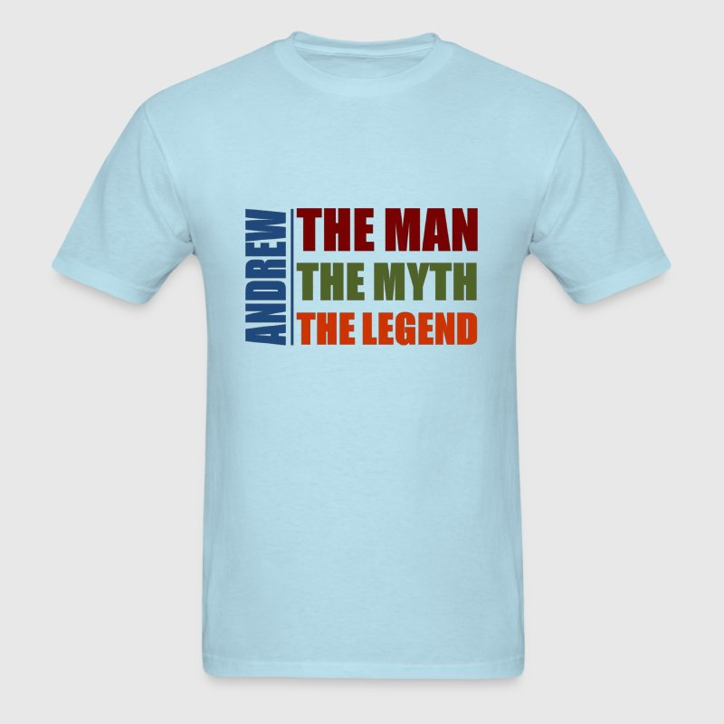 Andrew the man, the myth, the legend - Men's T-Shirt