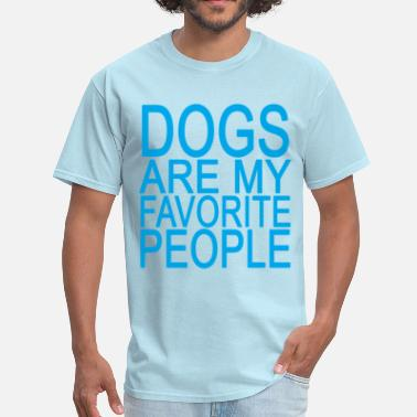 Dogs Are My Favorite People dogs_are_my_favorite_people_ - Men's T-Shirt