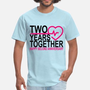 Shop 2 Year Anniversary T Shirts Online Spreadshirt