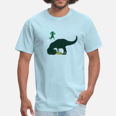 Fuck Arm T-rex arms - Men's T-Shirt