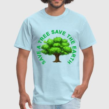 Save The Trees save_a_tree_save_the_earth_tshirt_ - Men's T-Shirt