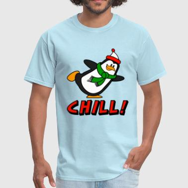 Penguin Chill! Chilly Willy - Men's T-Shirt