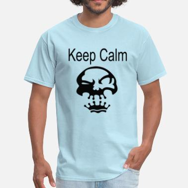 Keep Calm Crown Skull Keep Calm Crown Skull - Men's T-Shirt