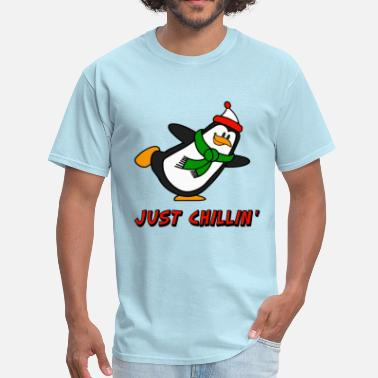 Brr Just Chillin' Penguin Chilly Willy - Men's T-Shirt