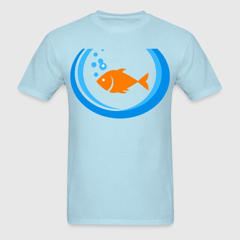 Fish Bowl - Men's T-Shirt