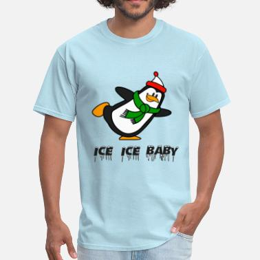 Brr Ice Ice Baby Penguin Chilly Willy - Men's T-Shirt