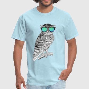 Owl Chilling out - Men's T-Shirt