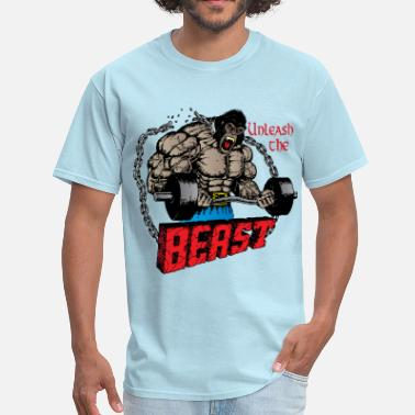 Unleash Unleash the beast - Men's T-Shirt